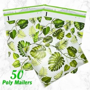 Other - 50 Leaves Poly Mailers 10x13 Shipping bag